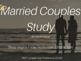 Married Couples Study