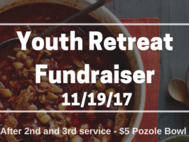 Youth Retreat Fundraiser